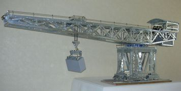 Giant Block-setting Crane - Left