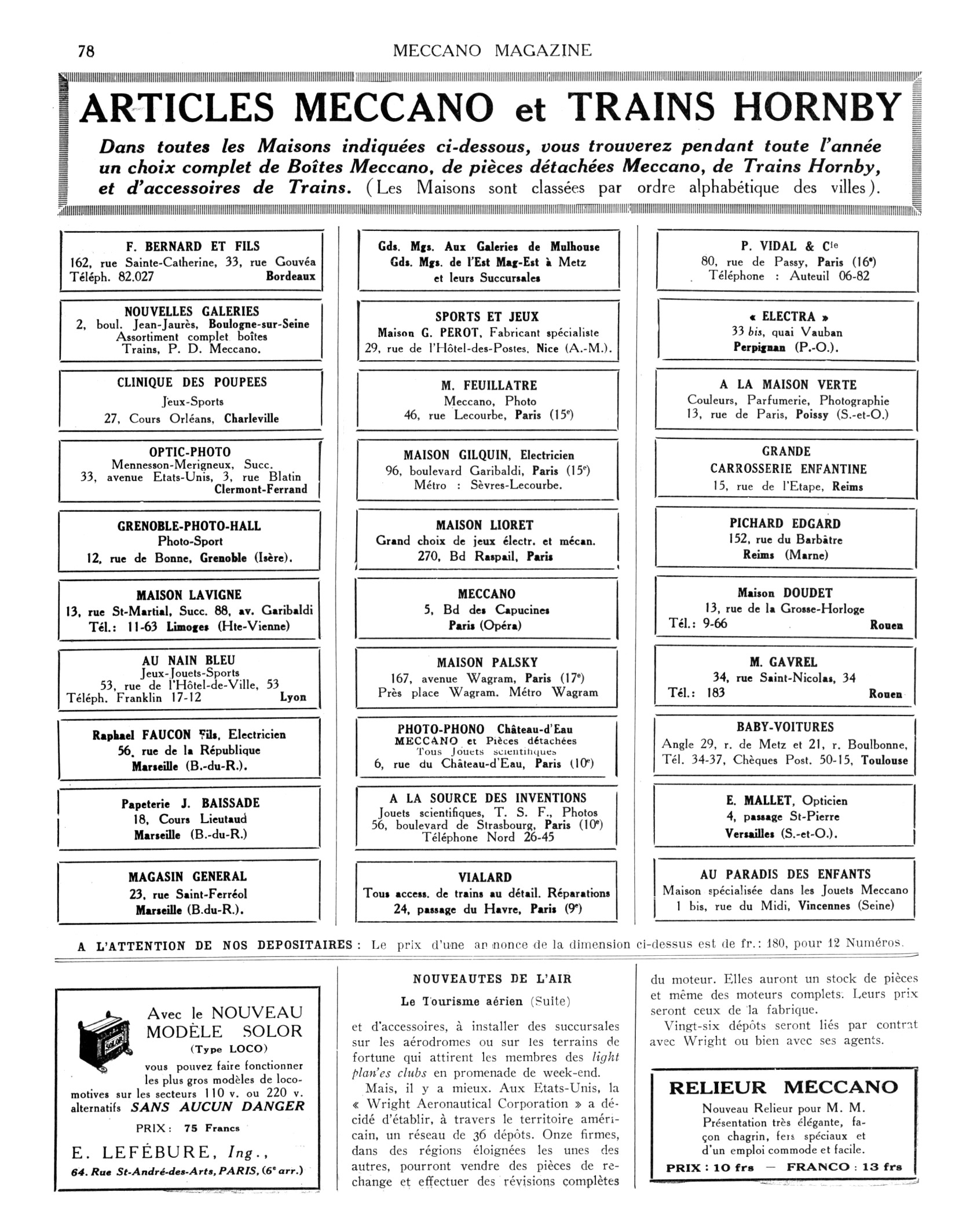 Meccano Magazine Magazine Mai De Meccano 1929 1929 Mai Meccano De Magazine qRL4j35A