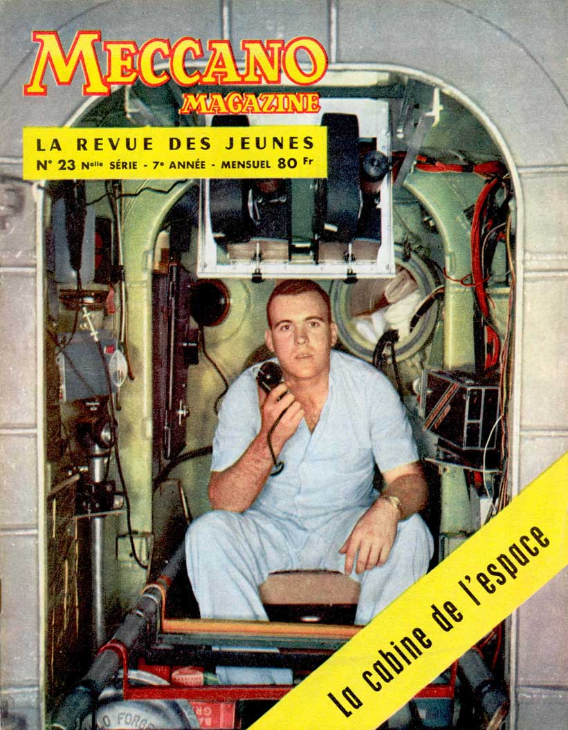 Meccano Magazine Français September 1959 Front cover