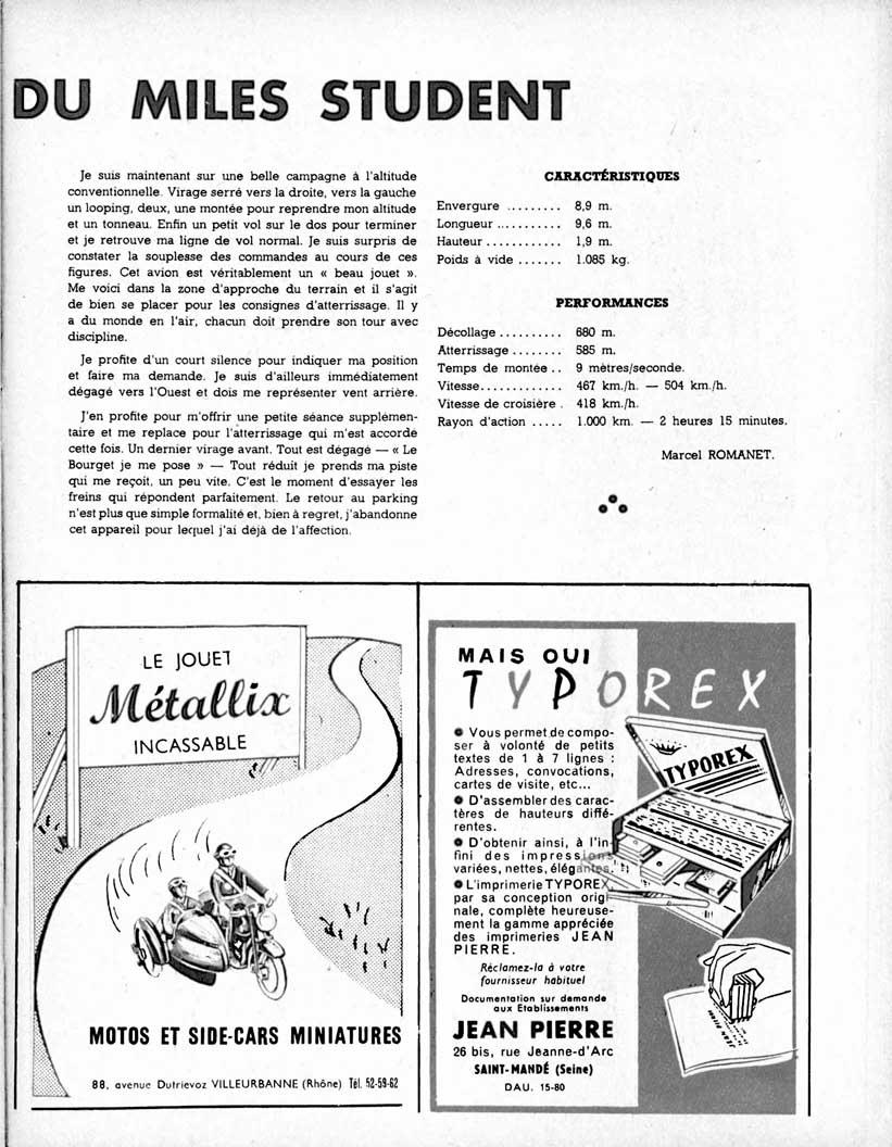 Meccano Magazine Français September 1959 Page 23