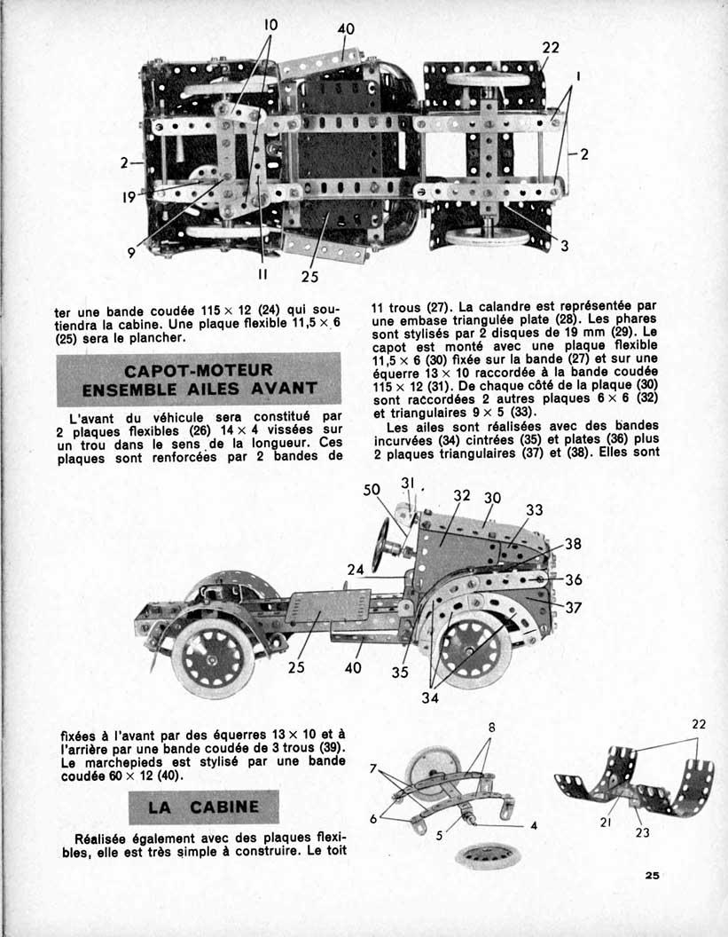 Meccano Magazine Français September 1959 Page 25