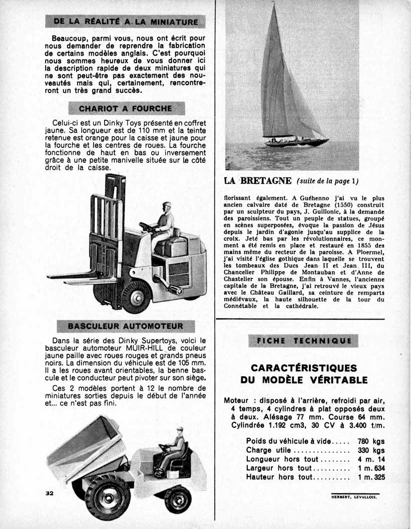 Meccano Magazine Français September 1959 Page 32
