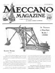 Meccano Magazine Français August (Août) 1922 Page 1