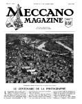 Meccano Magazine Français August (Août) 1925 Page 85