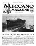Meccano Magazine Français August (Août) 1926 Page 113