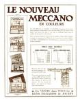 Meccano Magazine Français February (Février ) 1928 Inner F/cover