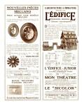 Meccano Magazine Français February (Février ) 1928 Inner R/cover