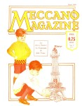 Meccano Magazine Français March (Mars) 1928 Front cover
