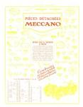 Meccano Magazine Français March (Mars) 1928 Inner F/cover