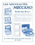 Meccano Magazine Français September (Septembre) 1928 Inner F/cover