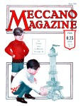 Meccano Magazine Français March (Mars) 1929 Front cover