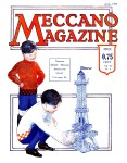 Meccano Magazine Français April (Avril) 1929 Front cover