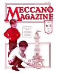 Meccano Magazine Français June (Juin) 1929 Front cover