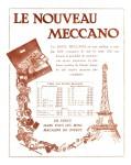 Meccano Magazine Français June (Juin) 1929 Inner F/cover