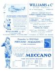Meccano Magazine Français October (Octobre) 1929 Inner F/cover