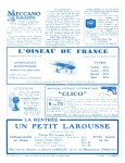 Meccano Magazine Français October (Octobre) 1929 Inner R/cover