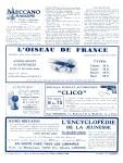 Meccano Magazine Français November (Novembre) 1929 Inner R/cover