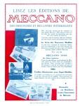 Meccano Magazine Français December (Décembre) 1929 Rear cover