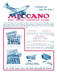 Meccano Magazine Français March (Mars) 1932 Rear cover
