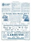 Meccano Magazine Français October (Octobre) 1932 Inner R/cover