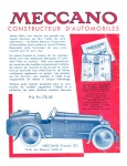 Meccano Magazine Français October (Octobre) 1932 Rear cover