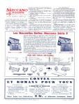 Meccano Magazine Français November (Novembre) 1932 Inner R/cover