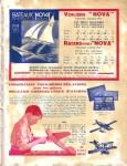 Meccano Magazine Français April (Avril) 1934 Inner R/cover
