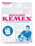 Meccano Magazine Français April (Avril) 1935 Inner R/cover