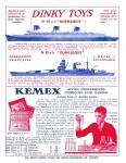 Meccano Magazine Français June (Juin) 1936 Inner F/cover