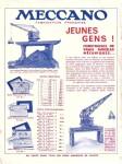 Meccano Magazine Français May (Mai) 1937 Inner F/cover