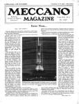 Meccano Magazine Français May (Mai) 1937 Page 121