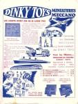 Meccano Magazine Français May (Mai) 1937 Inner R/cover