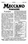 Meccano Magazine Français August (Août) 1954 Page 9