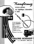 Meccano Magazine Français May (Mai) 1958 Inner F/cover