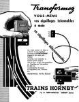 Meccano Magazine Français August (Août) 1958 Inner F/cover