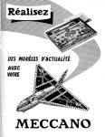 Meccano Magazine Français August (Août) 1958 Inner R/cover