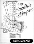 Meccano Magazine Français January (Janvier) 1959 Inner R/cover