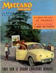 Meccano Magazine Français March (Mars) 1959 Front cover