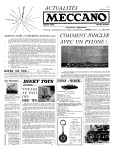 Actualités Meccano December (Décembre) 1959 Page 1