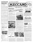 Actualités Meccano April (Avril) 1960 Page 1