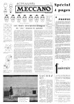 Actualités Meccano April (Avril) 1961 Page 1