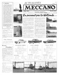 Actualités Meccano July (Juillet) 1961 Page 1